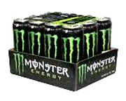 MONSTER ENERGY DRINK BEBIDA ENERGIZANTE 12 UNID PACK